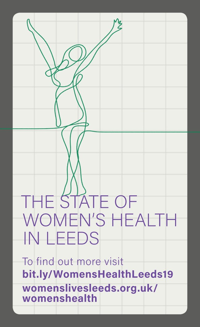 Health report launch event provides backdrop to celebrate International Women's Day in Leeds: cmt18-189-womenshealthreport-card-1-959832.jpg