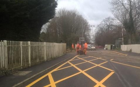 Newcastle Road Level Crossing-3