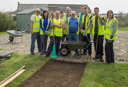 RAF and Moray's Greenfingers build a path to sales success: RAF and Moray's Greenfingers build a path to sales success