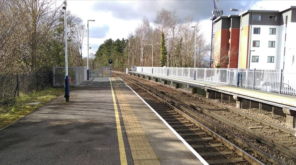 Work to boost rail capacity at Camberley set to begin: Visualisation showing what the new, longer platforms at Camberley will look like