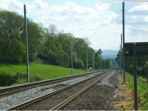 Bromsgrove electrification - stanchions