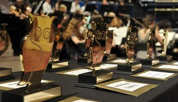 Leeds 'mini Oscars' celebrated in style at Leeds Town Hall: 1goldenowls.jpg