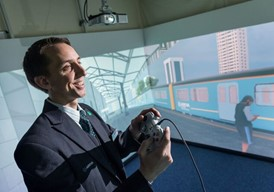 Arriva introduces world's first virtual reality platforms in support of train passenger safety across Wales: Arriva introduces world's first virtual reality platforms in support of train passenger safety across Wales