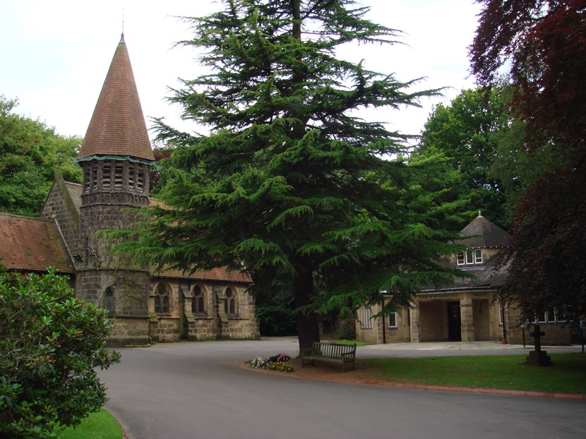 Vandalism of Books of Remembrance at Leeds Crematorium condemned: lawnswood2.jpg