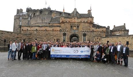 Asian business leaders gather in Edinburgh to learn about the Data Economy: CIOAA Edinburgh Castle