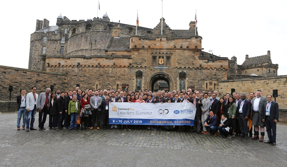 Asian business leaders gather in Edinburgh to learn about the Data Economy: CIOAA Edinburgh Castle