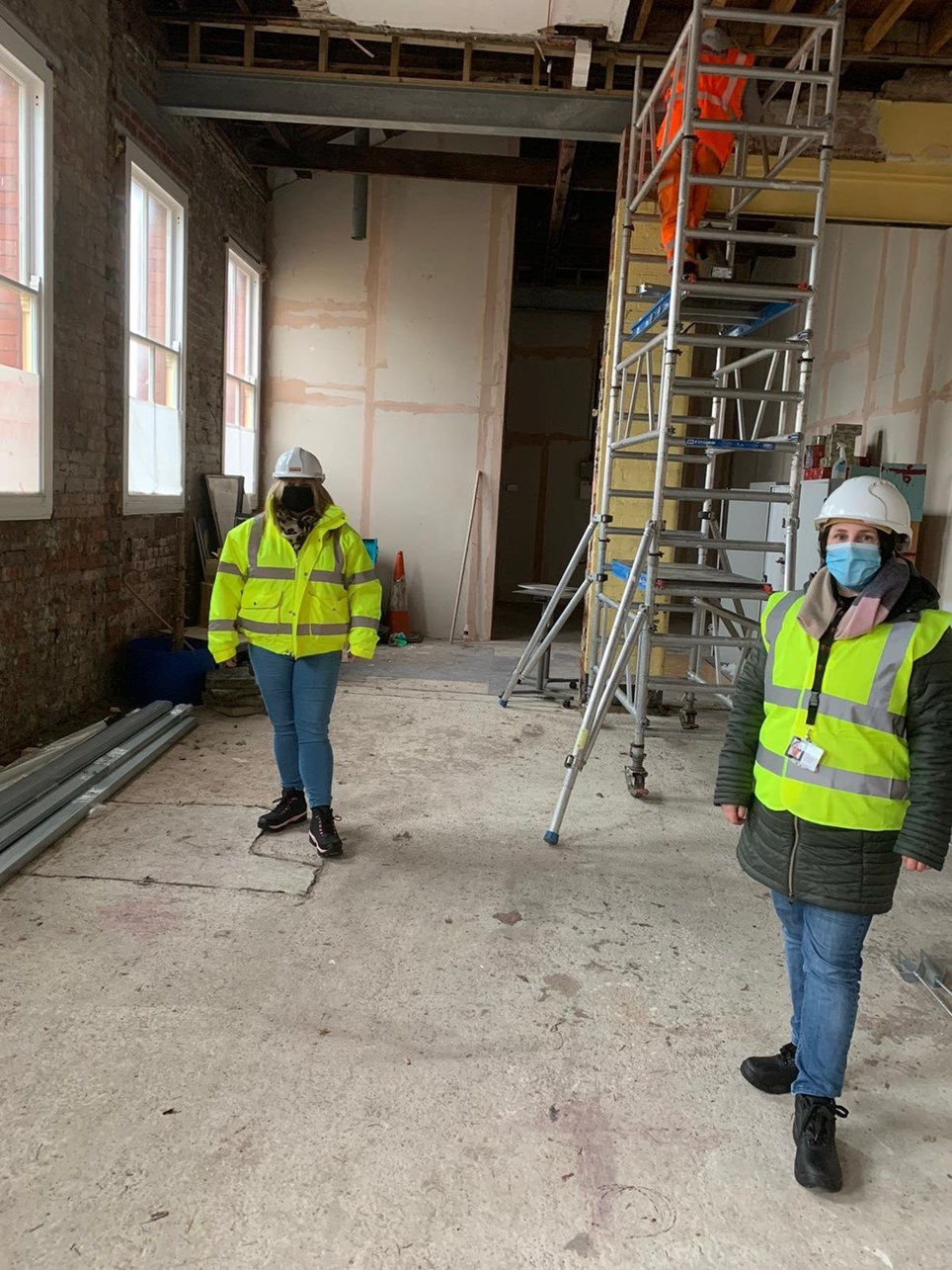 Llandudno work Jan 2021