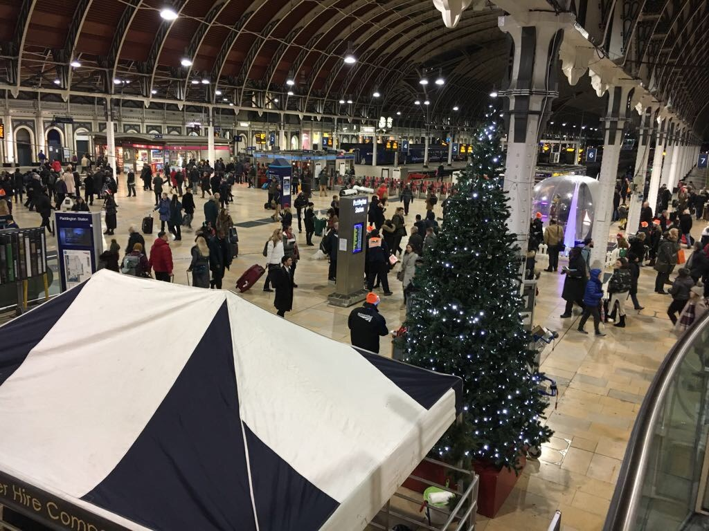 Passengers urged to plan their journeys ahead of bumper Christmas upgrade: The upgrade work will impact on services heading towards Paddington