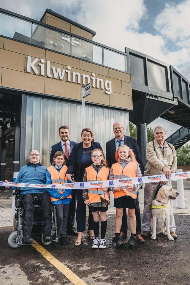 Kilwinning bridges accessibility gap: Kilwinning Access for All 1