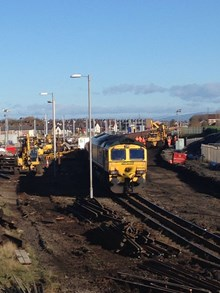 Blackpool week 1 - removal of track-2