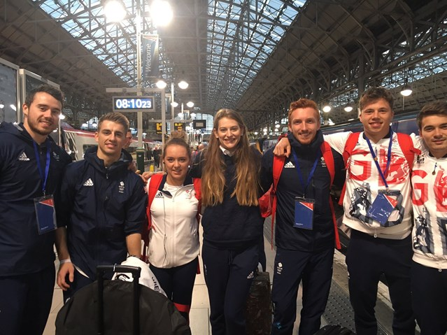 Rail industry honours Team GB and ParalympicsGB heroes: GB Paralympic and Olympic Rio celebration – Oct 2016