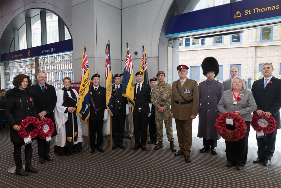Network Rail South East remembers the fallen:  RH 8765