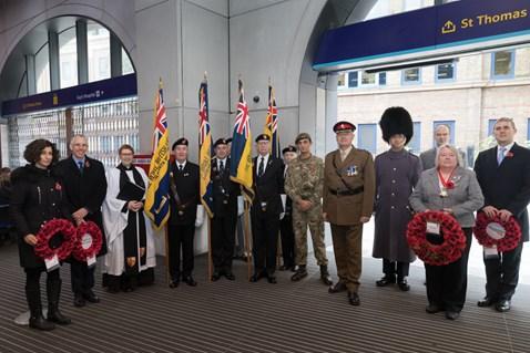 Network Rail South East remembers the fallen:  RH 8765