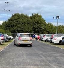New car park area