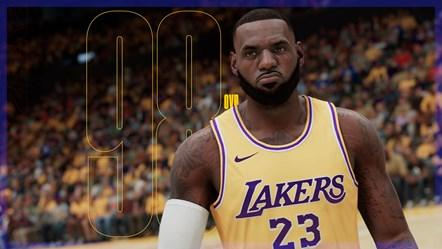 NBA 2K21 LeBron Rating