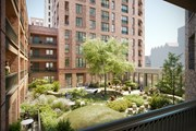 Assael Architecture Image - CLL Southall Development CGI courtyard view