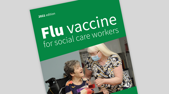 Flu vaccine for social care workers (image)