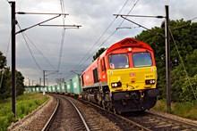 DB Cargo freight train: DB Schenker freight train
