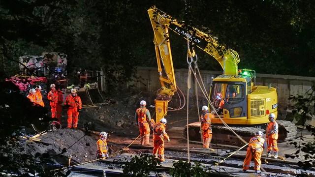 Railway reopens for passengers in Calderdale after historic viaduct work: Taylors Bridge Todmorden - Credit Peter Wood
