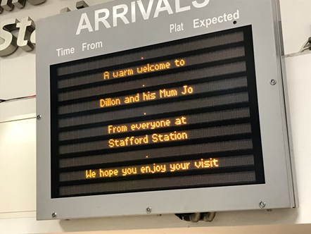 Dillon - Welcome to Stafford Station