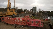 Work will be taking place in Royal Wootton Bassett over the Christmas period