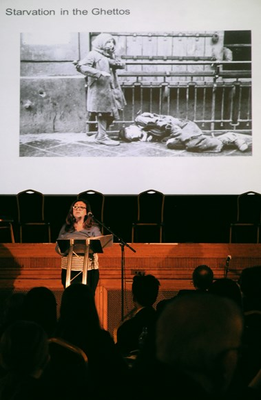 Holocaust Memorial Day - speaker Tracy Moses