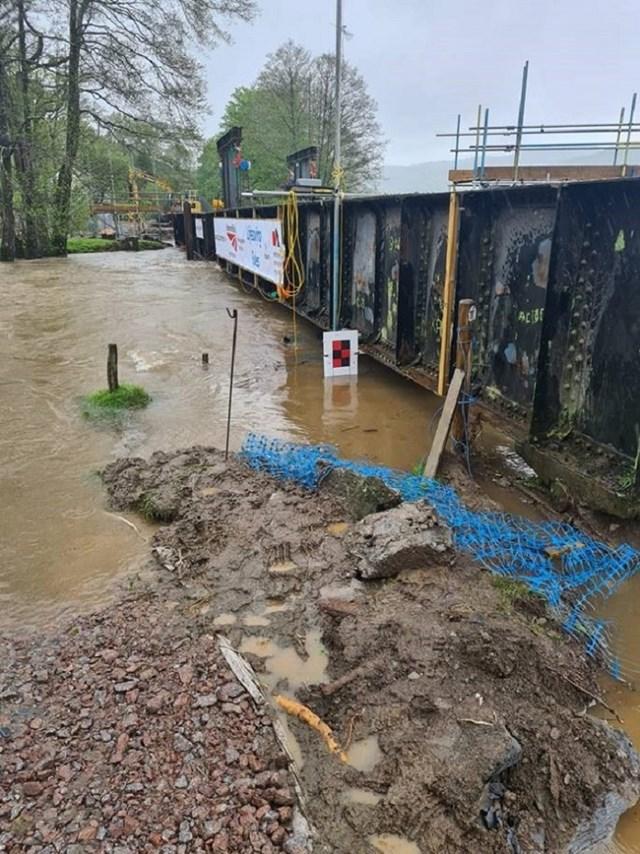 Black Bridge flooding May 2021 2