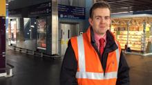 Calum MacKay is the station manager at London Paddington