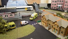 Rail safety model railway: Rail safety model railway
