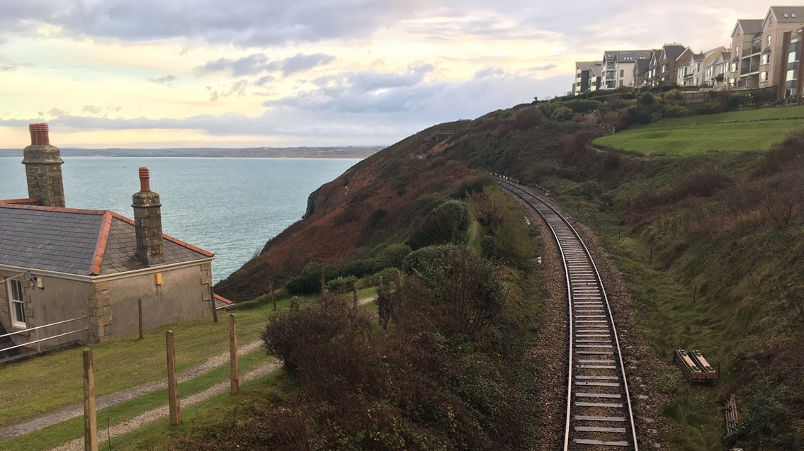 Passengers urged to check before they travel in the new year as Cornwall set to have £3m track upgrade: St Ives track renewal 2 web