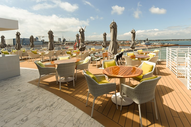 Saga Cruises' Spirit of Adventure - The Grill: The Grill restaurant specialising in steak