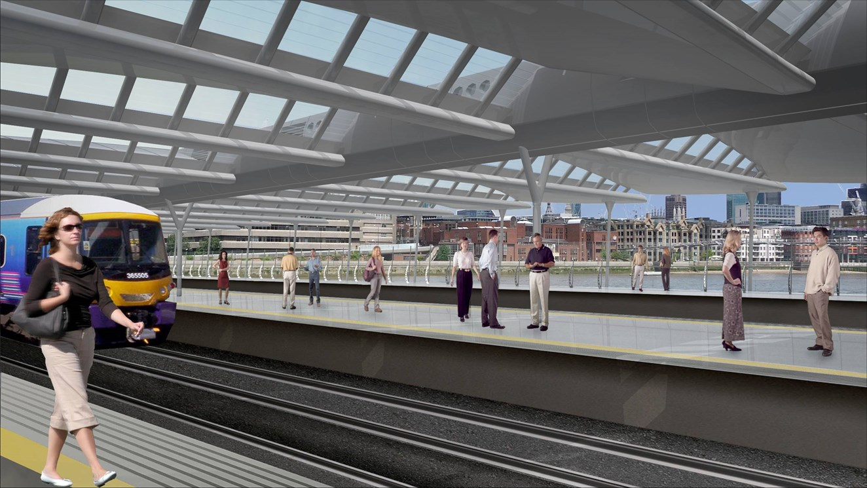 Blackfriars Station Platforms