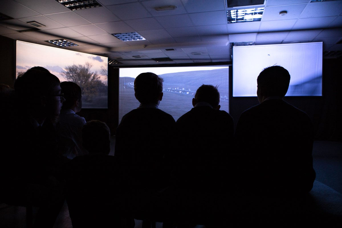 Exhibition of Inheritors by Webb-Ellis at Alchemy Film and Moving Image Festival 2019