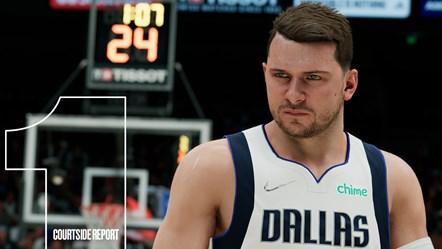 NBA 2K22 Courtside Report 1