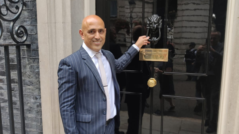 Railway workers recognised by number 10 for their efforts during the pandemic: Haji Mustaq at Number 10 Downing Street