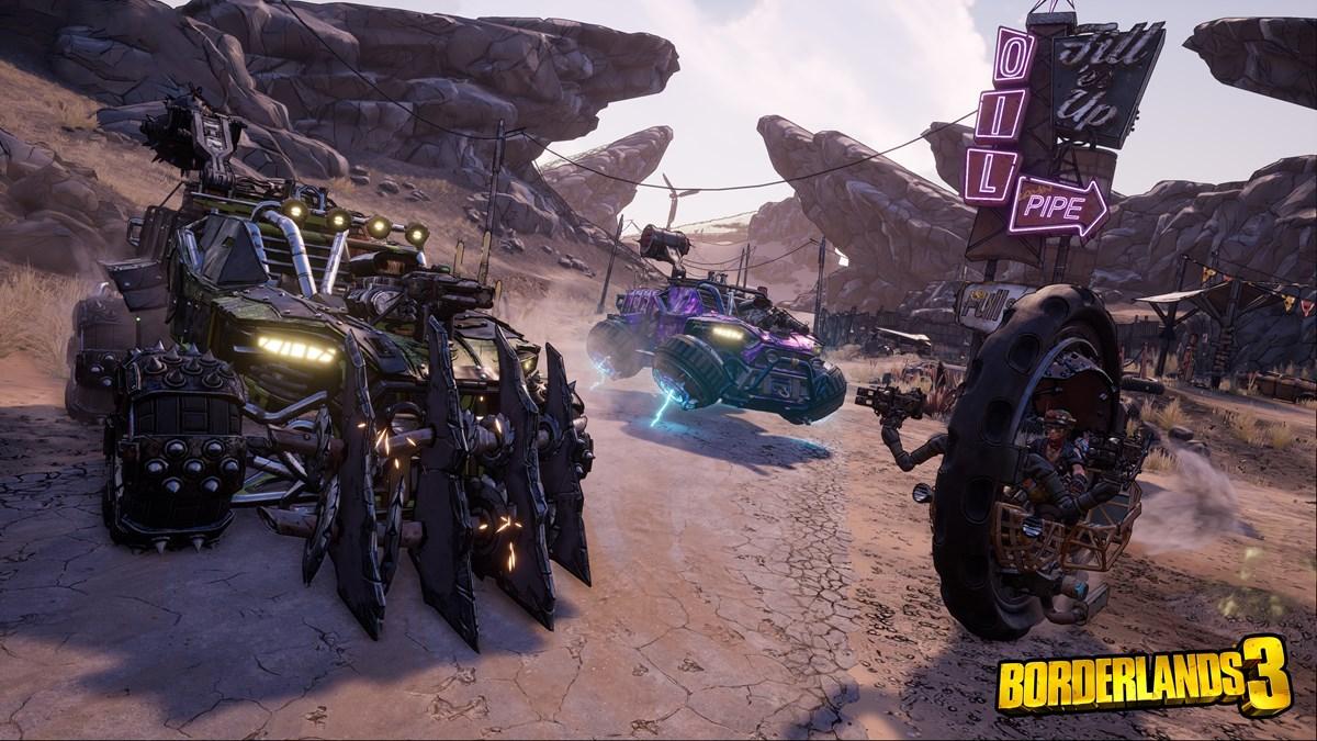 BL3 Vehicles
