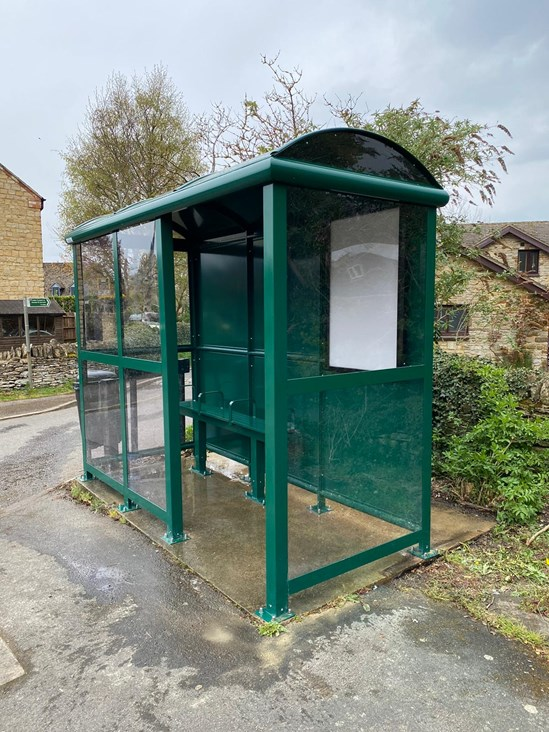 HS2 fund to deliver new Farthinghoe bus shelters: HS2-VL-24152-St Michaels Church (4)