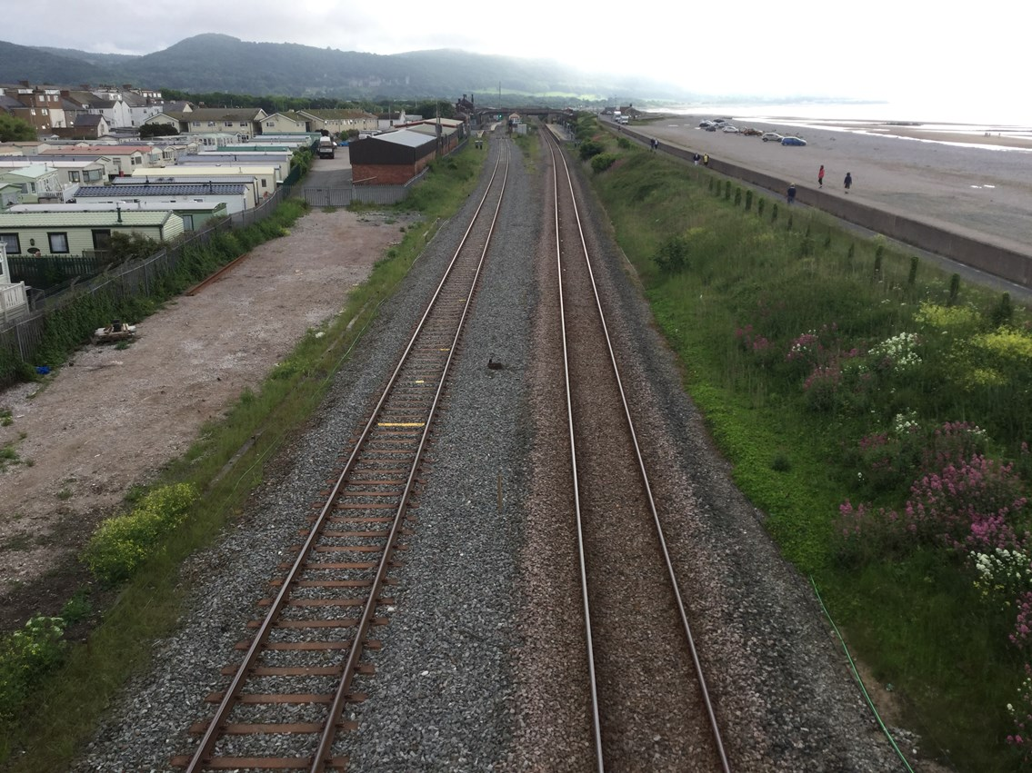 Abergele track upgrade completed as part of £50m project to improve reliability for North Wales passengers: Abergele Track Upgrade Work