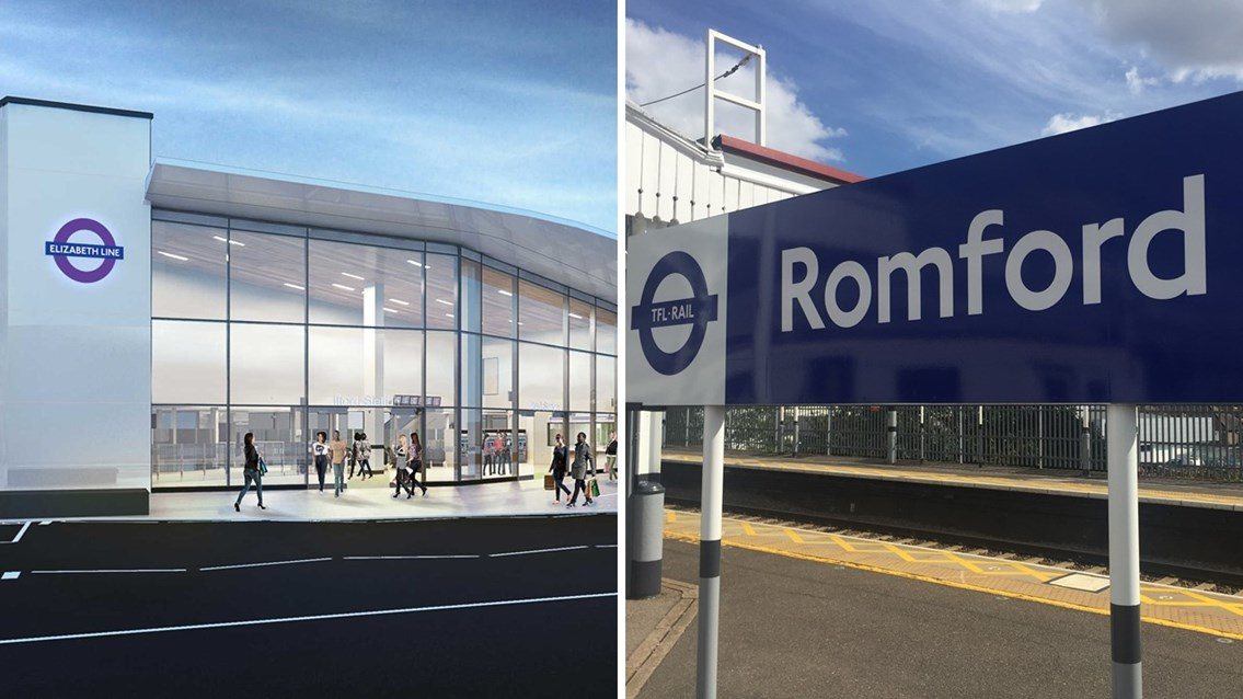 Network Rail awards Ilford and Romford station upgrade contract: Ilford Romford Image
