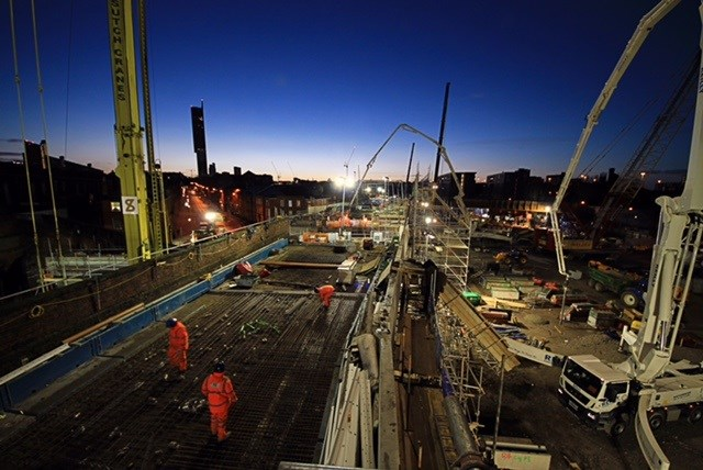 Passengers set to benefit from bumper Christmas: Ordsall Chord Christmas work track