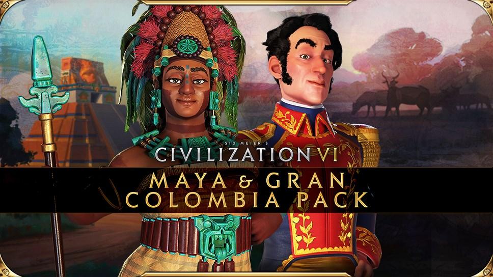Civilization VI - New Frontier Pass - Maya & Gran Colombia Pack - Key Art