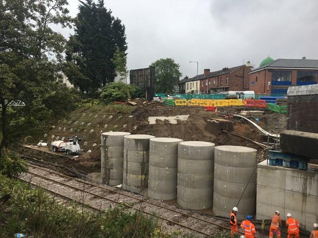 Railway through Bolton reopens: Moses Gate bridge repairs