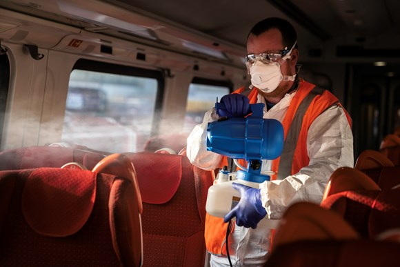 New fogger, powerful disinfectants and record number of cleaners - EMR continues cleaning investment: Fogger