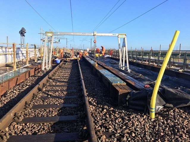 Railway bridge upgrades completed to prevent future delays for Ely to Kings Lynn passengers: Bridge work between Ely and Kings Lynn